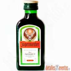 Botellitas Mini botellas de Jägermeister de 4cl.
