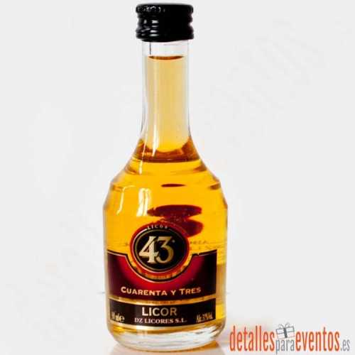 Botellitas Mini botellas de Licor 43 de 5cl.